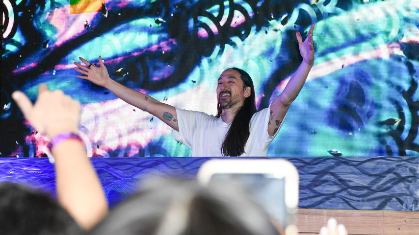 Steve Aoki beim E11Even Miami x Barstool Sports Big Game Pop-Up, 2021