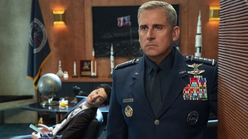 """Steve Carell in der Comedyserie """"Space Force"""""""