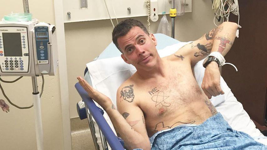 Steve-O im Krankenhausbett