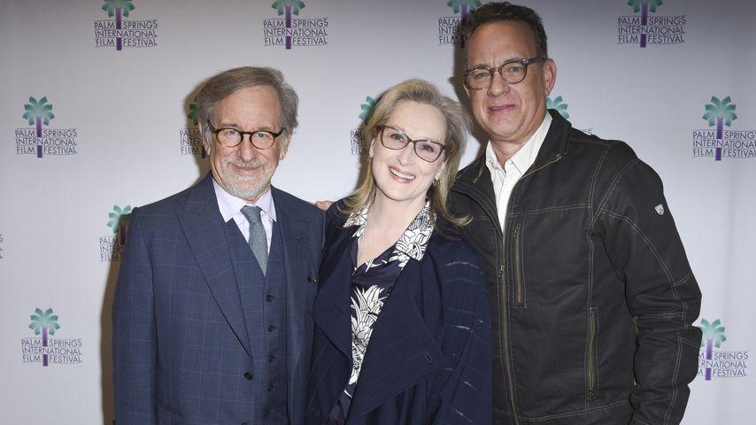 Steven Spielberg, Meryl Streep und Tom Hanks
