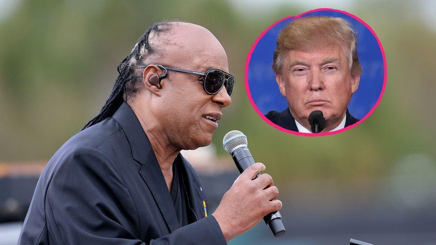 Mit witzigem Vergleich: Stevie Wonder warnt vor Donald Trump