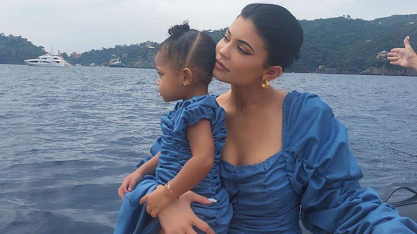 Stormi Webster und ihre Mutter Kylie Jenner