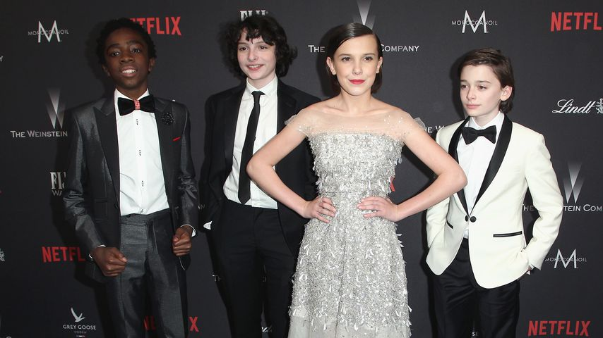 "Der ""Stranger Things""-Cast bei einer Golden Globes-Afterparty"