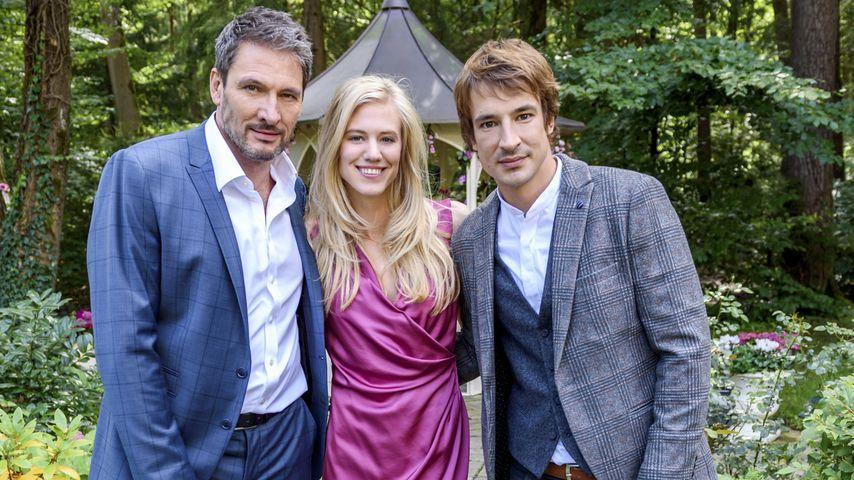 Christoph (Dieter Bach), Alicia (Larissa Marolt) und Viktor (Sebastian Fischer)