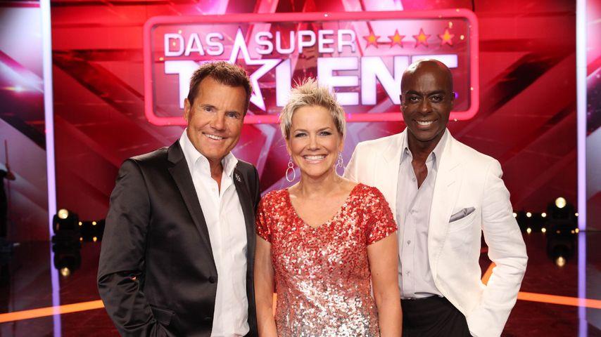 """""""Das Supertalent""""-Jury 2015: Dieter Bohlen, Inka Bause und Bruce Darnell"""