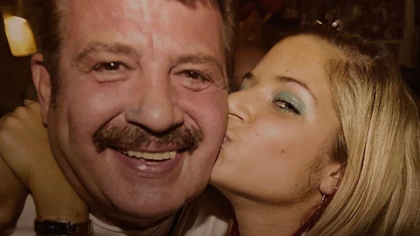 Throwback-Bild von Susan Sideropoulos mit ihrem Vater