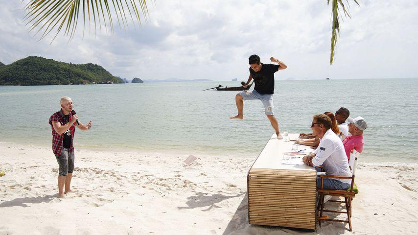 Sven und Daniel beim DSDS-Recall in Thailand