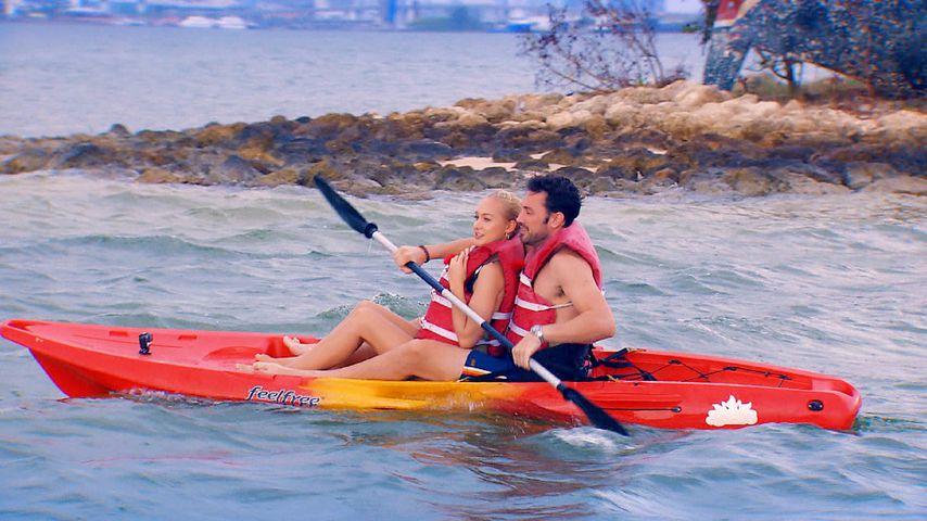 Svenja und Bachelor Daniel bei ihrem ersten Einzel-Date