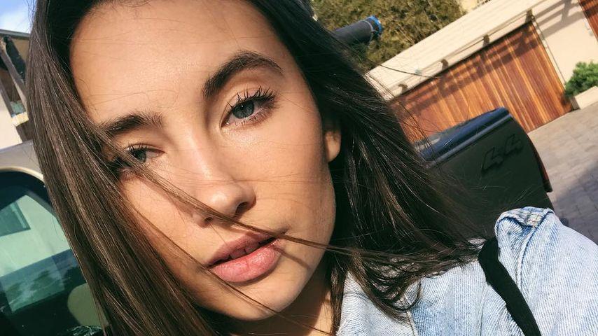 Model Sydney Brooke im März 2018