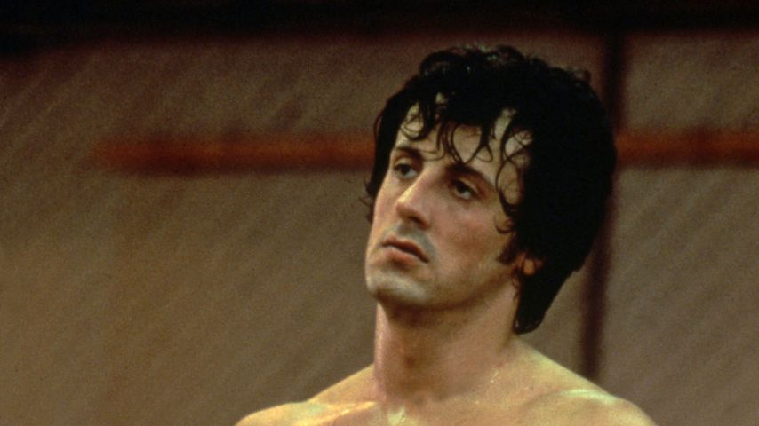 """Sylvester Stallone in """"Rocky"""", 1976"""