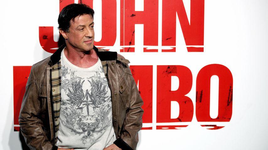 "Sylvester Stallone bei der ""John Rambo""-Premiere 2008"