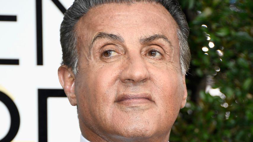 Sylvester Stallone bei den Golden Globe Awards 2017