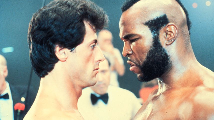"Sylvester Stallone und Mr. T in ""Rocky III"""