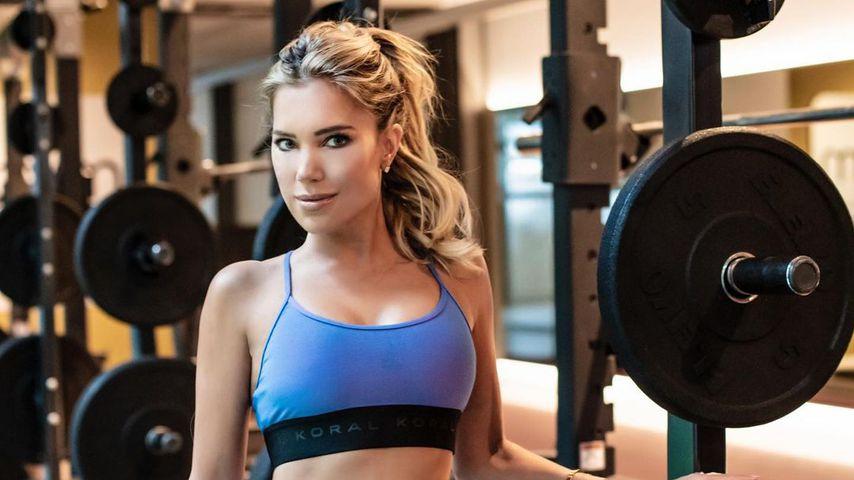 Sylvie Meis beim Sport