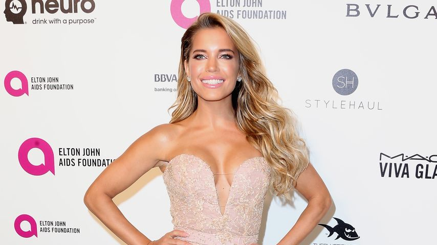 Sylvie Meis bei einer Party von Elton John in Hollywood