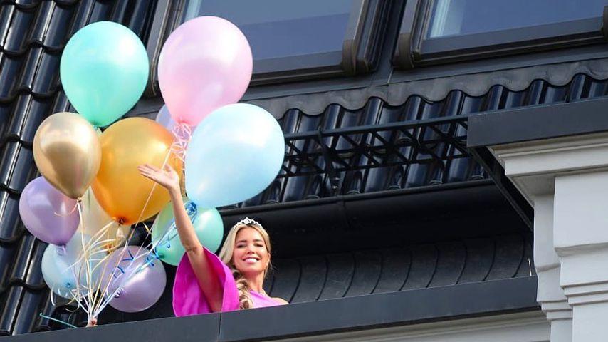 Sylvie Meis an ihrem 42. Geburtstag