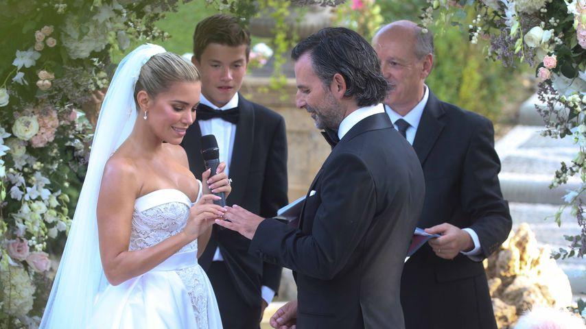 Sylvie Meis und Niclas Castellos Hochzeit in Florenz im September 2020