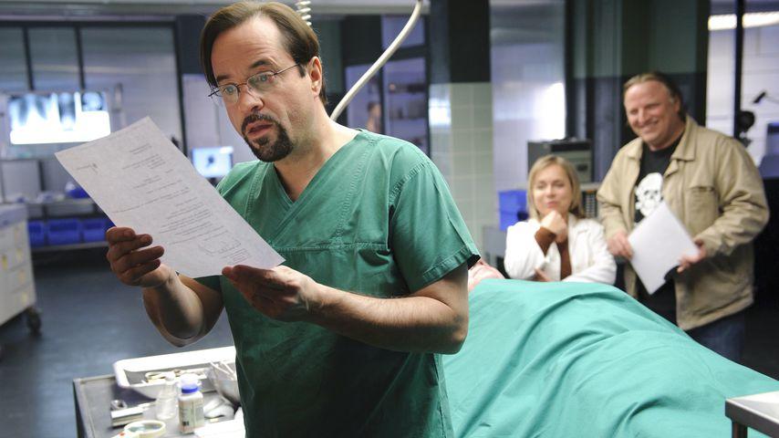 Prof. Börne, Dr. Haller und Frank Thiel aus dem WDR Tatort