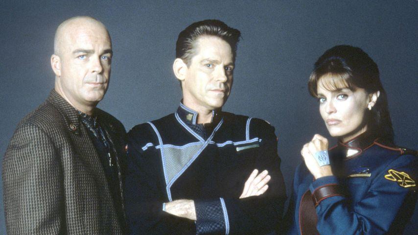 Jerry Doyle, Jeff Conaway, Tracy Scoggins