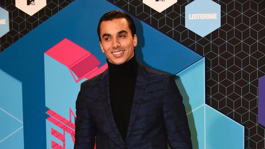 Tänzer Timor Steffens bei den MTV Europe Music Awards