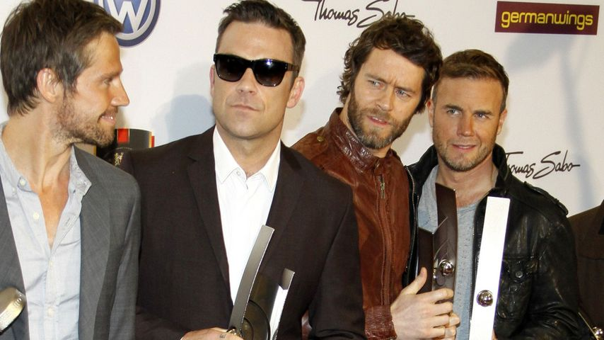 """Back for good"": Feiert Take That Bandjubiläum mit Robbie?"