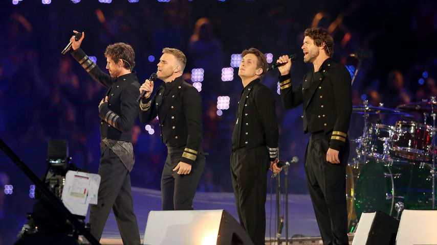 """Popgruppe """"Take That"""" im August 2012"""