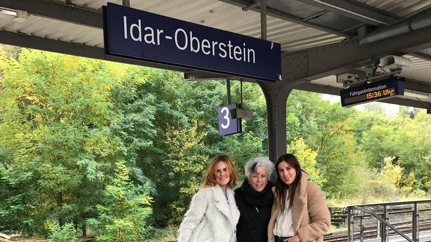 Deutschland-Trip: Willis' Töchter mit Omi in Idar-Oberstein!
