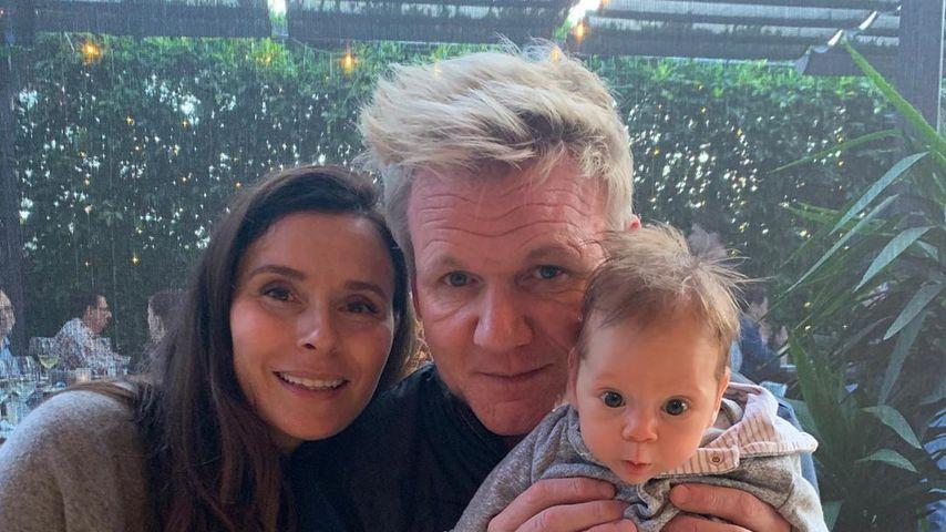 Tana und Gordon Ramsay mit Sohn Oscar
