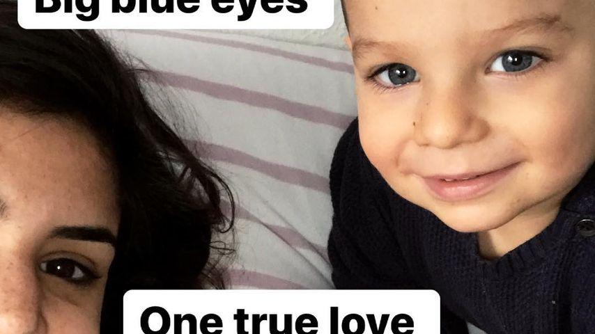 Tanja Tischewitsch mit ihrem Sohn Ben