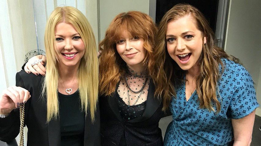 """Die """"American Pie""""-Stars Tara Reid, Natasha Lyonne und Alyson Hannigan im Juli 2019"""