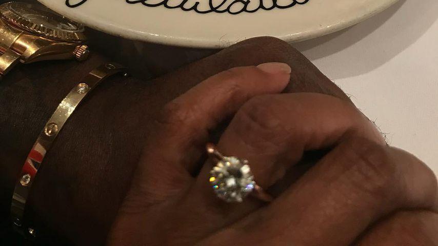 Taraji P. Henson zeigt ihren Verlobungsring