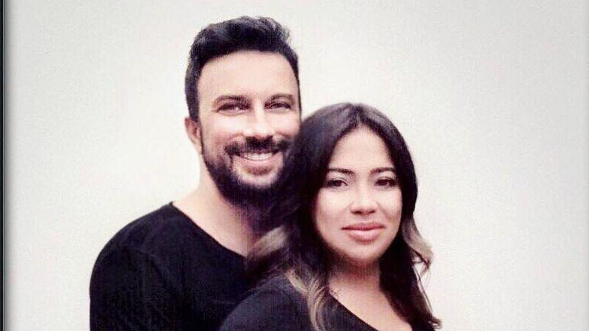Tarkan und Ehefrau Pinar