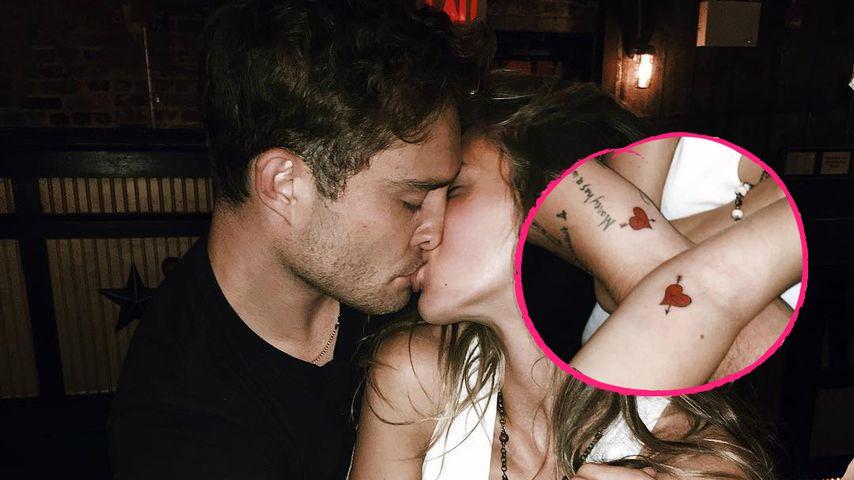 Partner-Tattoos: Bei Ed Westwick & Jessica wird's ernst!