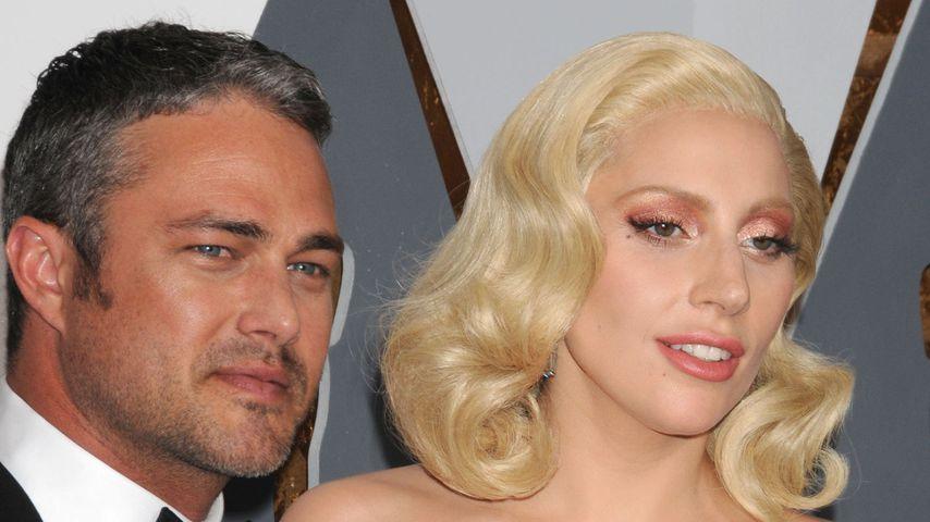 Taylor Kinney und Lady Gaga bei den Oscars 2016