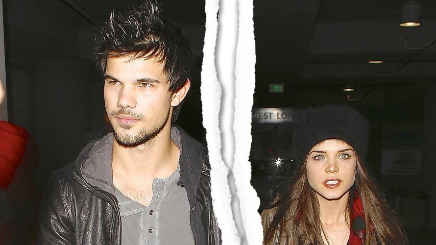 Liebes-Aus! Taylor Lautner & Marie sind getrennt