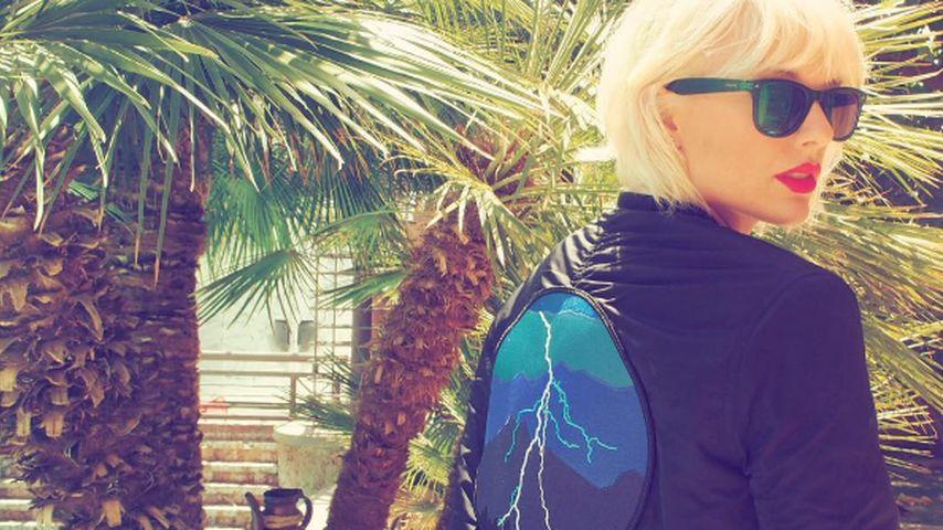 Neuer Kurzhaar-Look! Taylor Swift rockt weißblonde Mähne