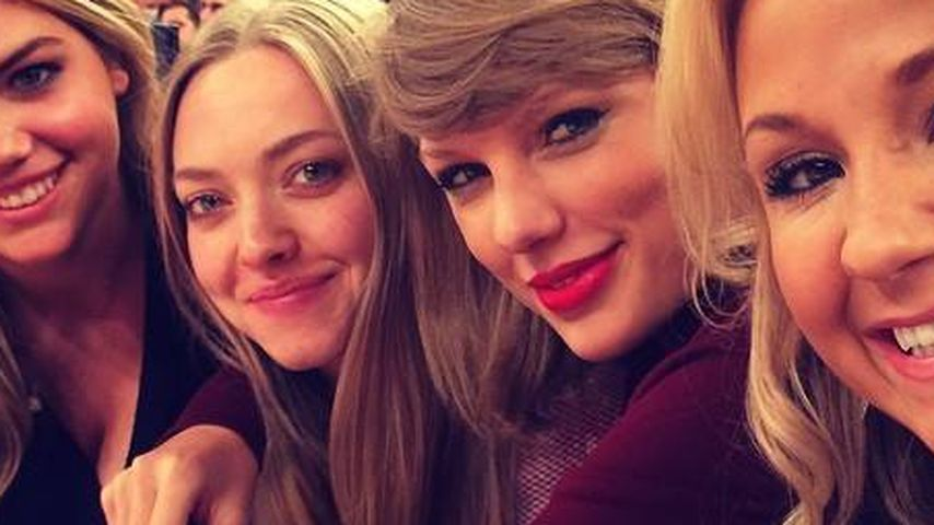 Taylor Swift, Kate Upton und Amanda Seyfried