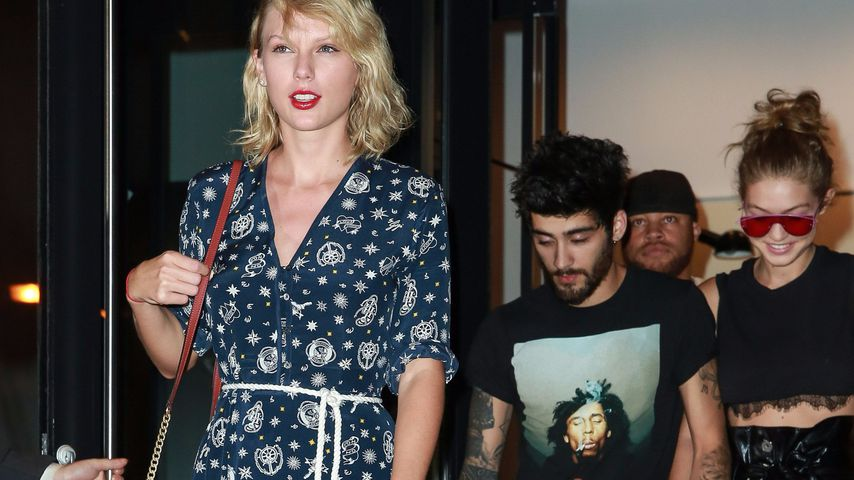 Taylor Swift mit Zayn Malik und Gigi Hadid in New York