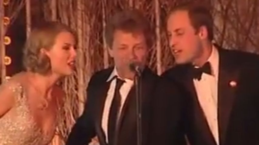 Video: Prinz William & Taylor Swift singen Karaoke