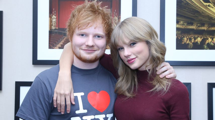 Ed Sheeran floh mit Taylor Swift vor den Cops!