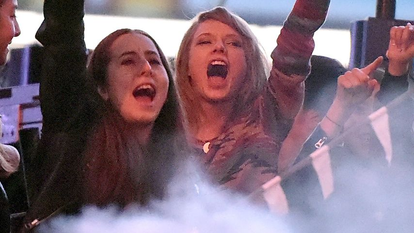 Taylor Swift verzückt: Hier himmelt sie Calvin Harris an