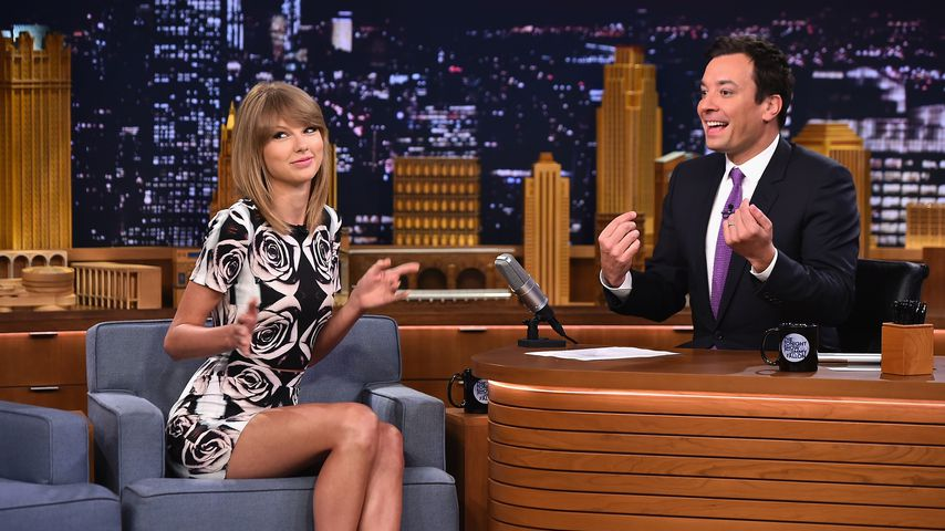 "Taylor Swift bei ""The Tonight Show Starring Jimmy Fallon"" 2014"