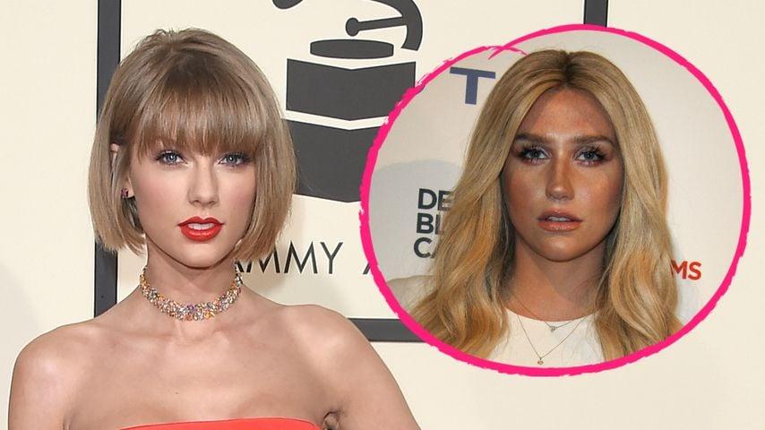 Riesenspende: Taylor Swift unterstützt Kesha mit 250.000 $