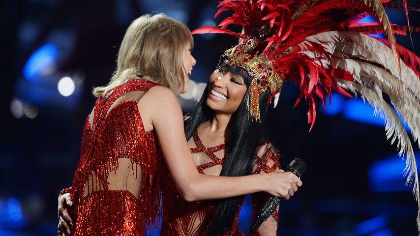 Nach Zicken-Krieg: Taylor Swift & Nicki Minaj versöhnen sich