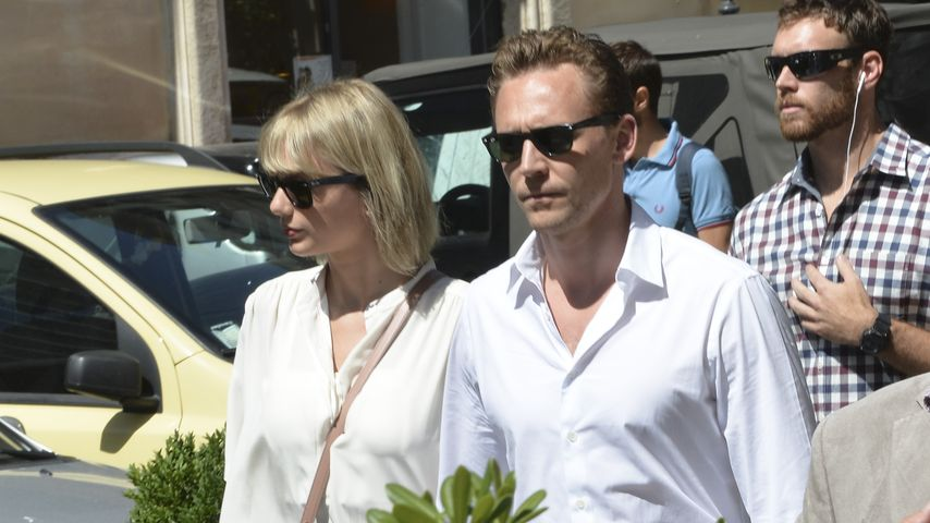 Taylor Swift und Tom Hiddleston in Rom