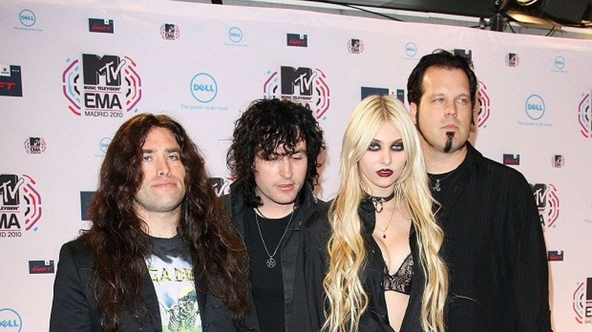 "Taylor Momsen und die Band ""Pretty Reckless"""
