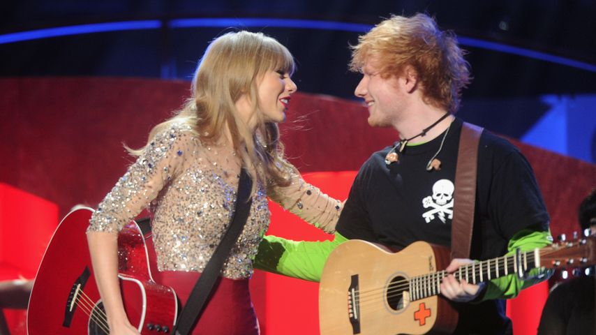 Taylor Swift und Ed Sheeran
