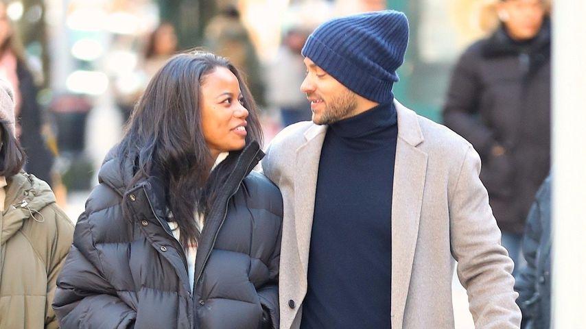 Taylour Paige und Jesse Williams im Januar 2020