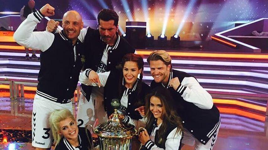"""""""Team Bachelor"""" bei der Völkerballmeisterschaft 2016"""