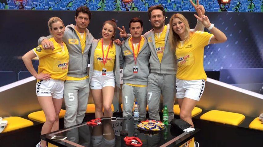 Rocco Stark, Alena Gerber, Joelina Drews, Nico Schwanz und Annica Hansen